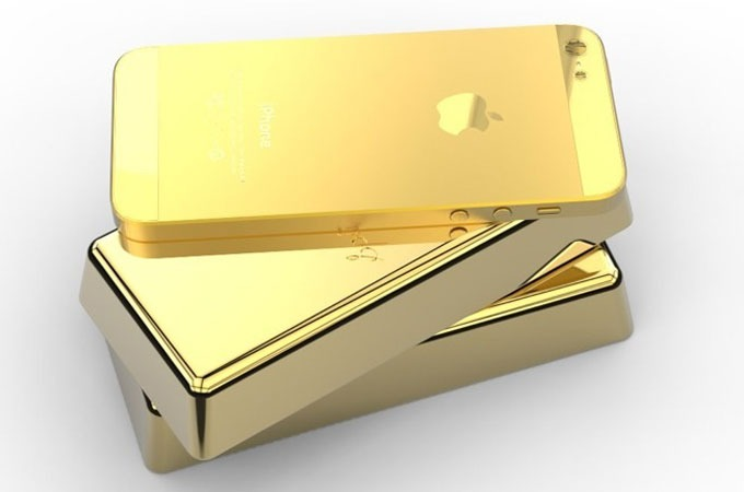 Real Gold Iphone