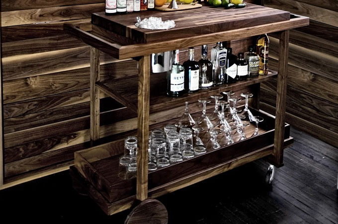 Kitchen Cart Bar Table